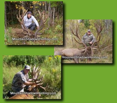 Check out our gallery section for more great photos of Miane Deer huntng!